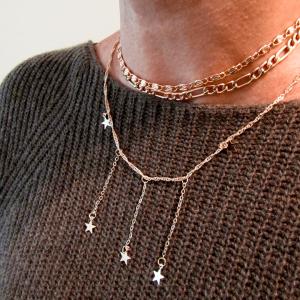 Modelo Collar Colgantes Estrella Nurhia Accesorios