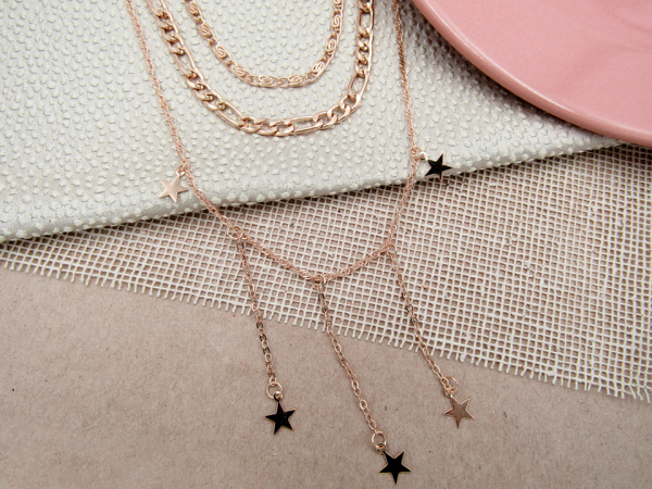 Collar Colgantes Estrella Nurhia Accesorios