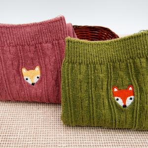 Medias Fox rosada verde Nurhia Accesorios