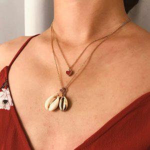 Collar Heart modelo Nurhia Accesorios